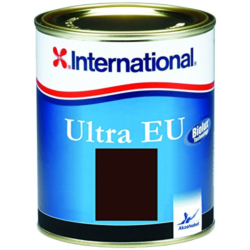 Antifouling de International Ultra EU – negro 0,75L