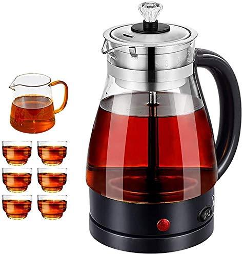 LMDH Cordless Tea Kettle, Boiler met roestvrij stalen Inner Deksel & Bottom, Eco Water Kettle BPA-Free Water Boiler for thee en koffie Brewing