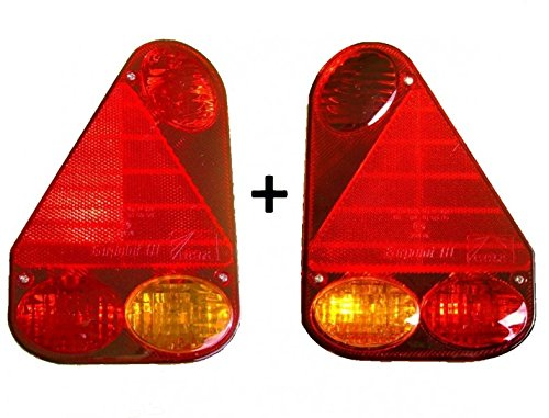 Aspöck Earpoint 3 lampe gauche + droite avec SET baïonnette