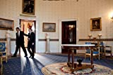 Das Museum Outlet–Barack Obama und Steven Chu in the