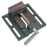 Morsa di bloccaggio, morsa per trapano a sgancio rapido in ghisa, regolabile per fresatrice per lavorazione dei metalli che fissa trapano per pezzi in lavorazione