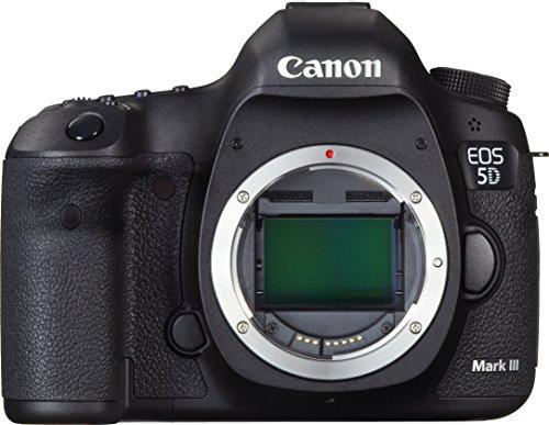 Canon EOS 5D Mark III SLR-Kameragehäuse 22.3MP CMOS 5760 x 3840Pixel Schwarz - Digitalkameras (22,3 MP, 5760 x 3840 Pixel, CMOS, Full HD, 950 g, Schwarz)
