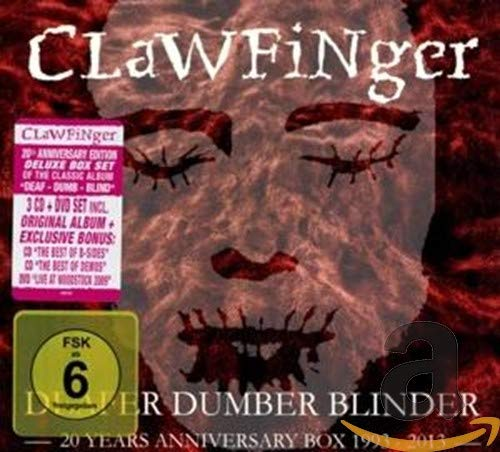 Clawfinger: Deafer Dumber Blinder-20 Years Anniversary Box (Audio CD (Live))