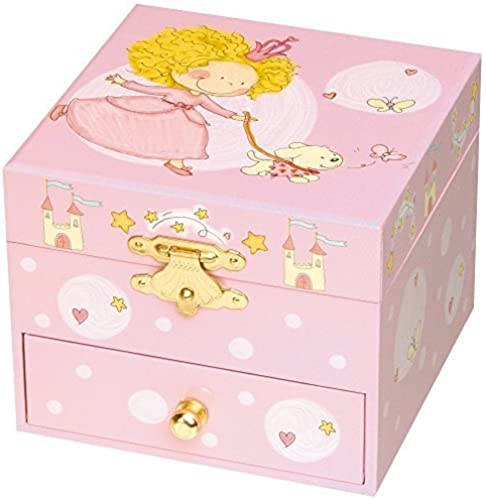descuento de ventas Trousselier Princess and Her Her Her Dog Musical Cube Box by Trousselier  mejor oferta