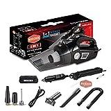 Best Car Vacuum Cleaners - Woscher 578 2-in-1 Car Air Pump Vacuum Cleaner Review