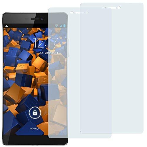 mumbi Schutzfolie kompatibel mit Huawei P8 Folie klar, Bildschirmschutzfolie (2X)