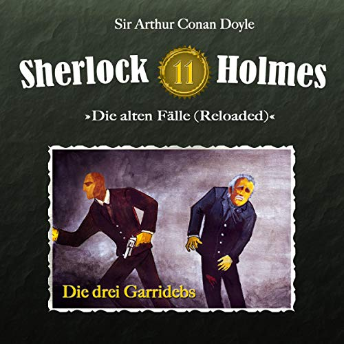 Die drei Garridebs audiobook cover art