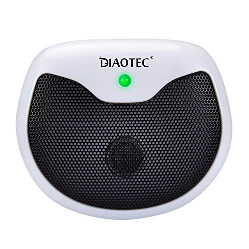 Diaotec Rodent Squirrel Repellent Ultrasonic Pest Deterrent Control Chaser Rodents Mouse Rats and Insects