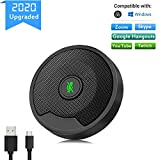 MTFY Conference USB Microphone for Computer, Omni-directional Condenser PC Laptop Mic with Instant Mute,...