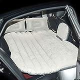 Warmhalten Auto Luftmatratze, Auto Universal Tragbare Mobile Rücksitzkissen Aufblasbare Bett...