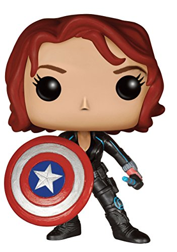 Funko POP! Marvel Vengadores La era de ultrón: Viuda Negra Exclusivo