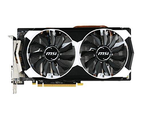 MSI V314-013R AMD Radeon R9 380 Grafikkarte (16x PCI-e 3.0, 2GB GDDR5 Speicher, DVI, HDMI, DisplayPort)