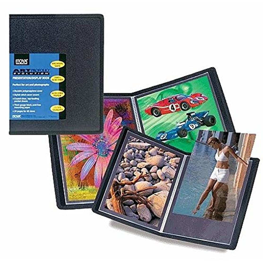ProFolio Art ProFolio Evolution Presentation Display Book - Portrait, 8.5 x 11 Inches
