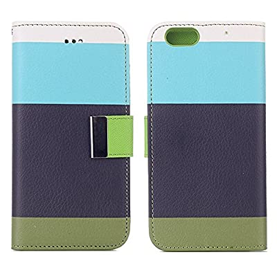 iPhone 6S Plus Case,EFUS Screen Protective with Cards Slots Cash Holder Magnetic Smart Color Stand Cover Flip Card Holder Wallet Case for iPhone 6/iPhone 6S Plus 5.5 inch (iPhone 6/6S Plus, A01)