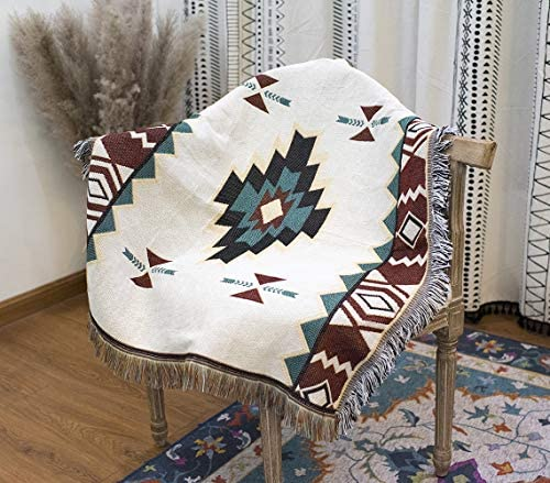 AIVIA Southwestern Aztec Decor for Home 35 x35 Cotton Woven Western Navajo Native American Tribal product image