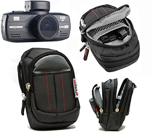 Navitech Black Case Bag Compatible with The Xuanpad Dash Cam Full HD 1080P