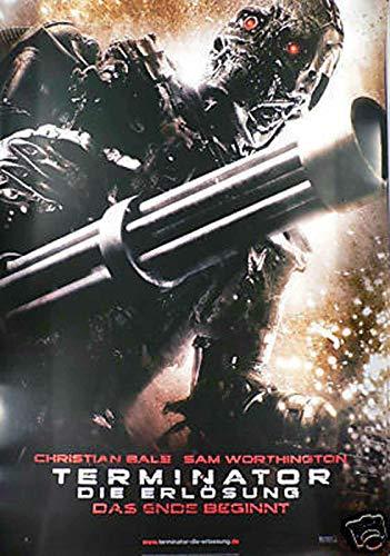 Terminator - Die Erlösung - Teaser - Filmposter A1 84x60cm gerollt (1)