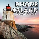 Rhode Island Calendar 2022: 16-Month Calendar, Cute Gift Idea For Rhode Island State Lovers Women & Men