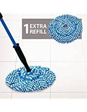 GALA Microfiber Twist Mop Modular, Blue and Grey