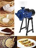 BEAMNOVA Grain Mill Dry Wet Grinder 1500W Molino de Maiz Electric Food Grinder for Corn Flour Rice Nut Blue...
