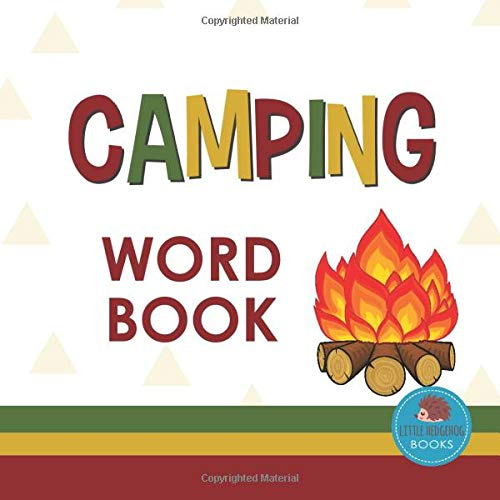 Camping Word Book: First Picture Book for Babies, Toddlers and Children...