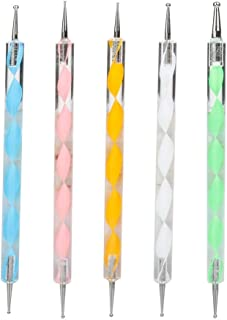 COMIART Ball Styluses Dotting Tool Set for Embossing Pattern Clay Sculpting,Nail Art