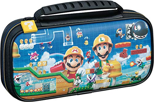 Nintendo Switch Lite Game Traveler Deluxe Travel Case - Mario Maker - Switch, 663293110933