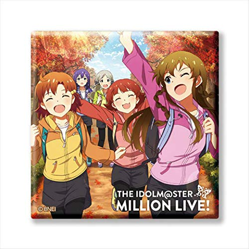 【M@STER SPARKLE 04】 アイドルマスター ミリオンライブ! トレーディングCDジャケット缶バッジ