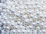 まんまるフェイク コットンパール ホワイト 3mm 200粒