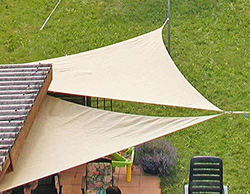 EDUPLAY 1600565x 5x 5m Sonnensegel Wasserabweisend Spielen Zelte