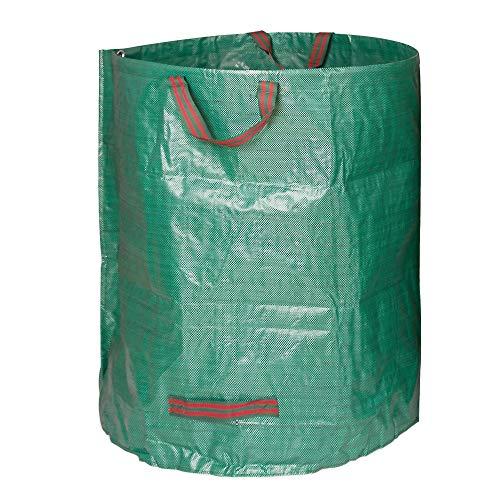 Edaygo Gartenabfallsack Laubsack Gartensack aus Polypropylen-Gewebe (PP), 500 Liter