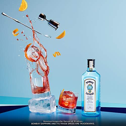 Bacardi Bombay Sapphire London Dry Gin 40% Vol. (1 x 0,7 l) - 5