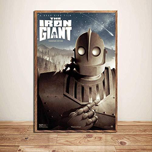 VGFTP Rompecabezas 1000 Piezas Imagen de Montaje El Gigante de Hierro Película clásica Película Robot Arte Seda para Adultos Juegos Infantiles Juguetes educativos