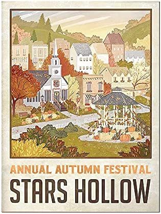 Stars hollow poster