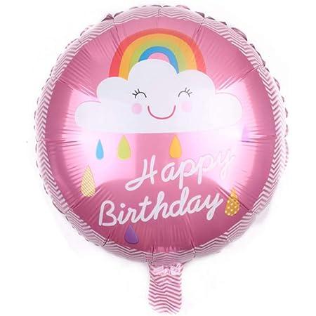 Hochzeit Deko Helium-Ballons Regenbogen Luftballons Folie Folienballon
