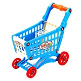 Simular carrito de compras Juguete Simular supermercado Carrito de compras Juegos de simulación Juguetes para niños Mini carrito Jugar Juguete de regalo para niños - Multicolor 28X15X30Cm