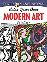Dover Masterworks: Color Your Own Modern Art Paintings