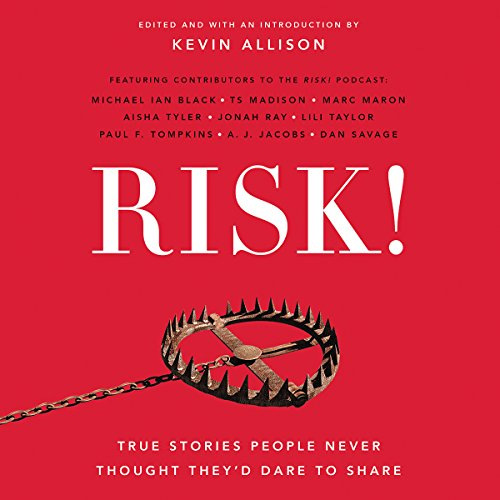 RISK! audiobook cover art