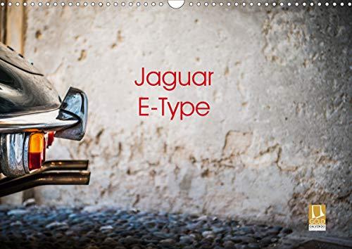 Jaguar E-Type 2021 (Wandkalender 2021 DIN A3 quer)