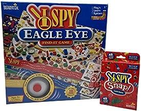 I Spy Game Bundle: I Spy Eagle Eye Board Game and I Spy Snap! Card Game