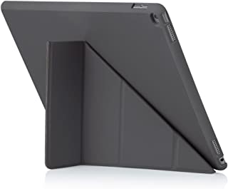 Pipetto iPad Pro 12.9 Case - Origami Smart Cover - Grey (Compatible with iPad Pro 12.9 inch)