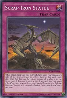 Yu-Gi-Oh! - Scrap-Iron Statue (SDSE-EN034) - Structure Deck: Synchron Extreme - 1st Edition - Common by Yu-Gi-Oh!