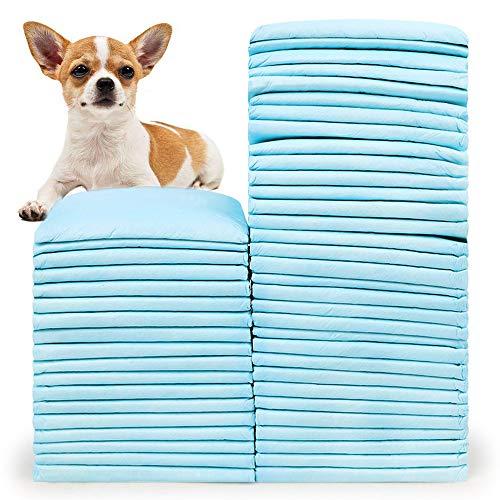 BLEVET 50 Stück Trainingsunterlagen für Hunde/Katzen Hygieneunterlagen das Training erleichtern MZ068 (45x60cm,50 Pack)