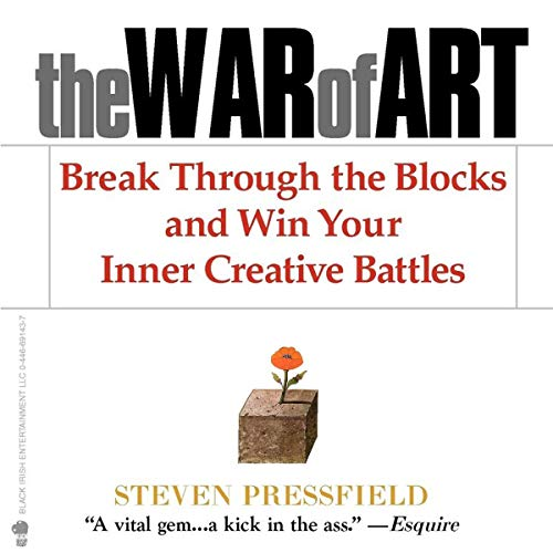 The War of Art                   Written by:                                                                                                                                 Steven Pressfield                               Narrated by:                                                                                                                                 Steven Pressfield                      Length: 2 hrs and 19 mins     16 ratings     Overall 4.6