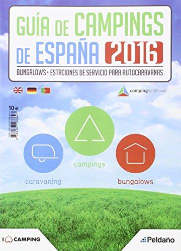 GUIA DE CAMPINGS 2016 DE ESPAÑA