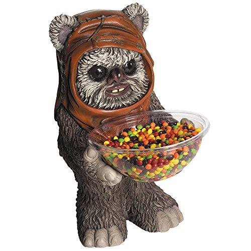 PARTY DISCOUNT NEU Candy-Bowl-Holder Ewok, ca. 50 cm