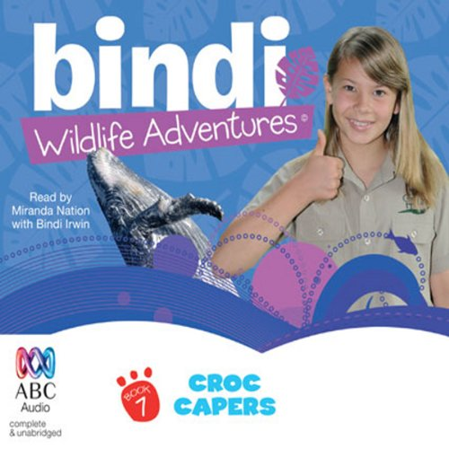 Croc Capers audiobook cover art