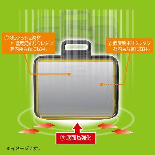 サンワサプライ衝撃吸収PCインナーケース13.3型ワイドブラックIN-H13BKN