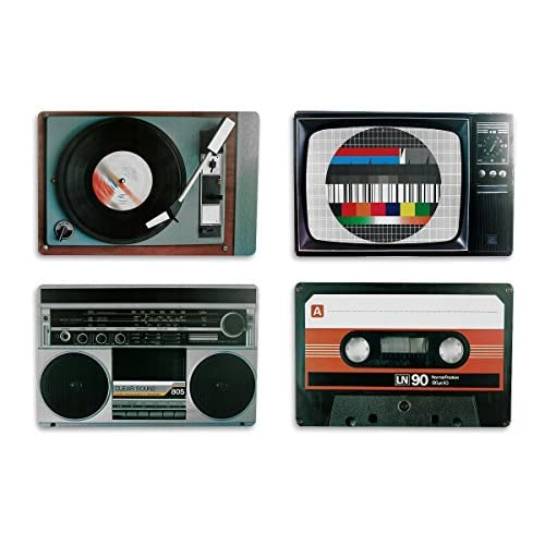 Close Up Tovaglie Americane Nostalgia apparecchiature Hi-Fi Stile rétro