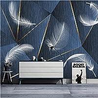 3D壁紙ポスター羽の形状カスタム大規模な壁紙の壁紙3Dテレビの背景リビングルームの写真の壁紙3Dルームの壁紙-350X250cm